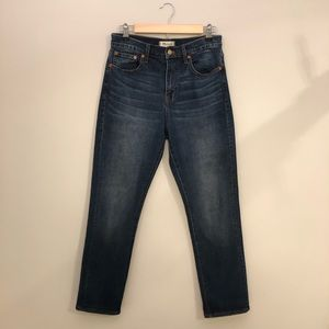 NWOT Madewell Cruiser Straight Jeans